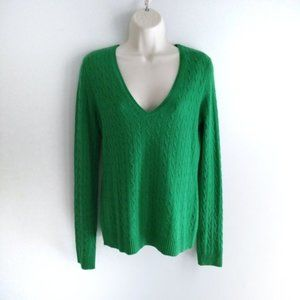 J. Crew - Cable Knit Cashmere Sweater